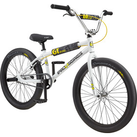 "GT Bicycles Pro Series Heritage 24"", white/black/yellow"